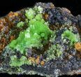 "2.2"" Pyromorphite Crystal Cluster - China - #63674-2"