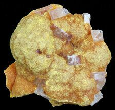 "Buy 1.7"" Orpiment With Barite Crystals - Peru - #63793"