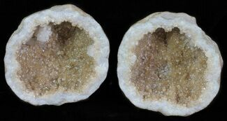 "2"" Keokuk Geode with Calcite Crystals - Missouri For Sale, #62261"