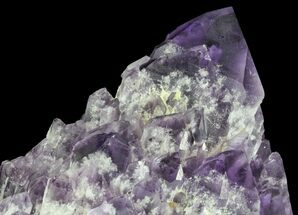 "Buy 8.2"" Elestial Amethyst Crystal Point - Brazil - #64744"