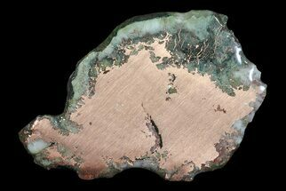 "Buy 3"" Copper Ore Slice - Michigan - #66382"