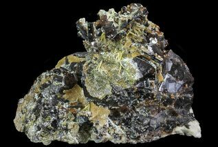 "3"" Garnet Cluster with Feldspar and Epidote- Pakistan For Sale, #38732"