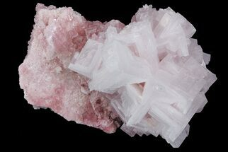 "4.2"" Pink Halite Crystal Plate - Trona, California For Sale, #67697"