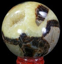 "Buy 2.3"" Polished Septarian Sphere - Madagascar - #67831"