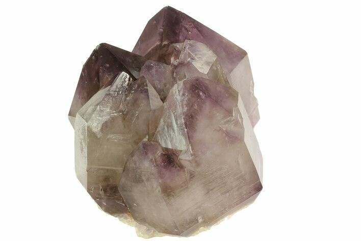 "5.1"" Smoky Amethyst Crystal Cluster - Diamond Hill, SC"