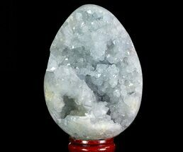 "3.3"" Crystal Filled Celestite ""Egg"" - Madagascar For Sale, #66128"