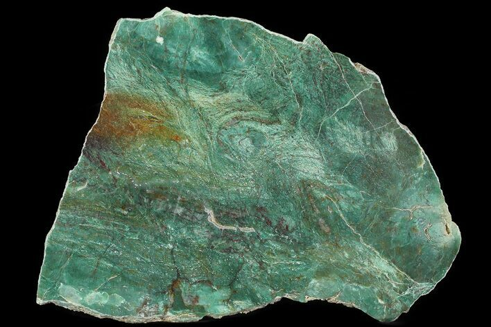 "10.5"" Polished Fuchsite Chert (Dragon Stone) Slab - Australia"