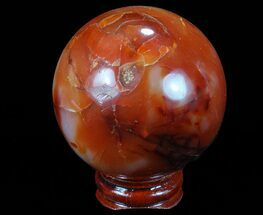 Quartz var Carnelian Agate - Fossils For Sale - #70929