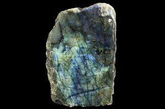 "5.1"" Tall, Single Side Polished Labradorite - Madagascar For Sale, #72566"