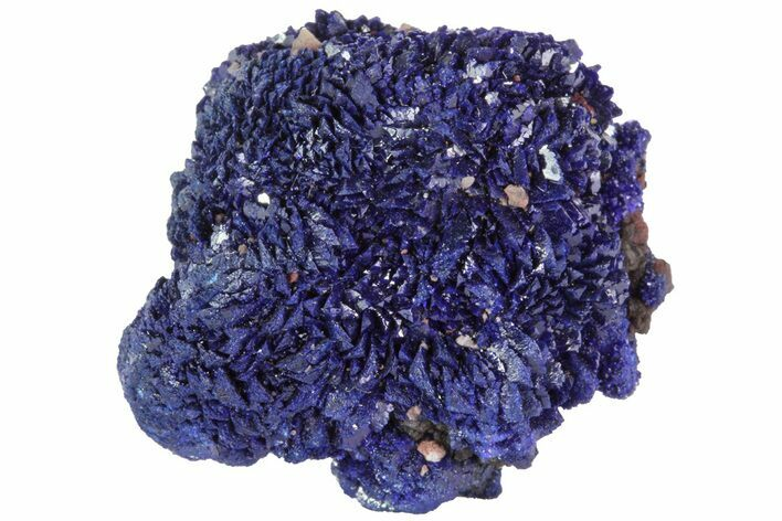 "1"" Sparkling Azurite Crystal Cluster - Morocco"