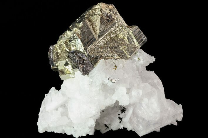 "2.3"" Sphalerite, Pyrite and Quartz Association - Peru"