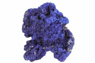 "Buy 1.5"" Sparkling Azurite Crystal Cluster - Morocco - #73450"