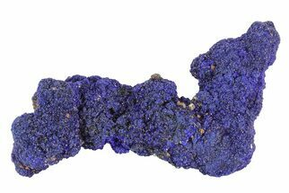 "Buy 2.6"" Sparkling Azurite Crystal Cluster - Morocco - #73453"