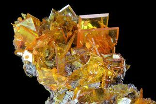 "Buy 3.1"" Wulfenite Crystal Cluster - Rowley Mine, AZ - #76852"