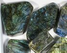 Wholesale Lot: 20 Lbs Free-Standing Polished Labradorite - 10 Pieces - #77654-1
