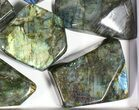 Wholesale Lot: 20 Lbs Free-Standing Polished Labradorite - 10 Pieces - #77654-2