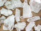 "Wholesale Lot: 10 Lbs Clear Quartz Crystal Clusters (2-4"") - Brazil - #78032-2"