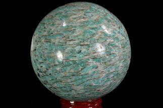 "Buy 2.7"" Polished Amazonite Crystal Sphere - Madagascar - #78733"