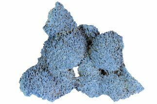 "1.95"" Shattuckite Formation - Shaba Province, DRC For Sale, #78689"