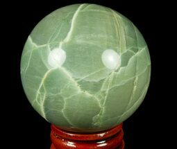 "2.2"" Polished Garnierite Sphere - Madagascar For Sale, #78989"