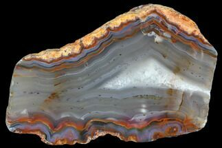 "4.5"" Beautiful Condor Agate From Argentina - Slab For Sale, #79535"