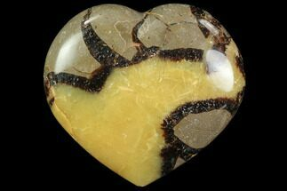 "3"" Polished Septarian Heart For Sale, #82016"