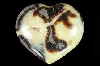 "Buy 3.5"" Polished Septarian ""Heart""  - #82027"