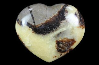 "2.9"" Polished Septarian ""Heart""  For Sale, #82034"