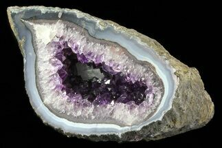 Quartz var. Amethyst - Fossils For Sale - #83658