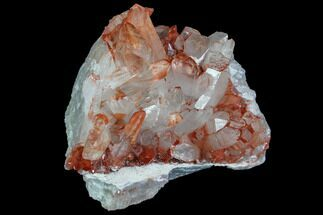 Quartz with Iron Oxide - Fossils For Sale - #84357