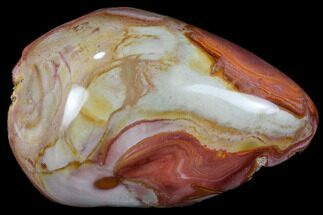 "Buy 5"" Polished Polychrome (Picture) Jasper - Madagascar - #84880"