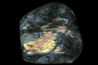 "Buy 5.8"" Tall, Flashy Polished Free Form Labradorite - #85279"