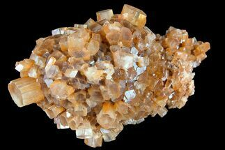"Buy 3.4"" Aragonite Twinned Crystal Cluster - Morocco - #87766"