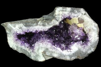 "Buy 8.9"" Beautiful Purple Amethyst Geode - Uruguay - #87445"