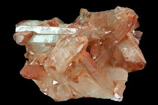 Quartz with Iron Oxide - Fossils For Sale - #88920