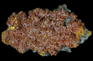 "Buy 4"" Realgar, Pyrite & Druzy Quartz Association - Peru - #89350"