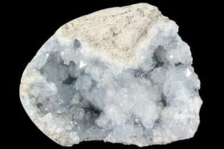 "Buy 4.3"" Sky Blue Celestite Geode - Madagascar - #88321"