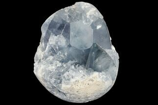 "3.6"" Sky Blue Celestite Crystal Cluster - Madagascar For Sale, #88325"