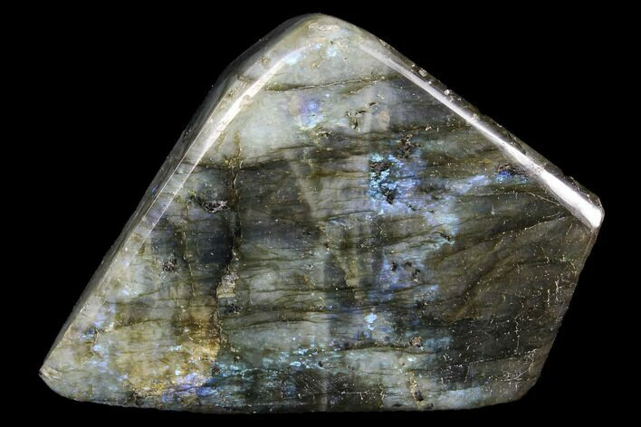 "3.4"" Flashy Polished Labradorite Free Form"