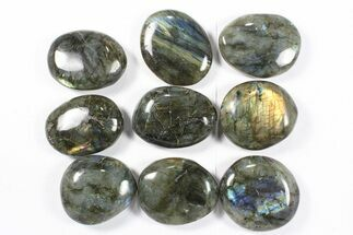 Buy Wholesale Box: Polished Labradorite Pebbles - 1 kg (2.2 lbs) - #90481
