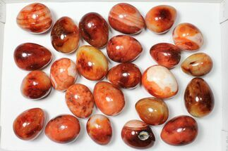 Carnelian Agate - Fossils For Sale - #91434