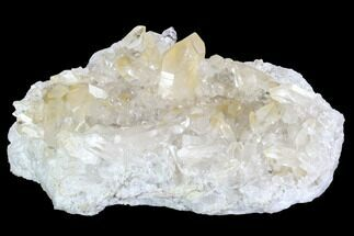 "8.5"" Quartz Crystal Cluster - Brazil For Sale, #93041"