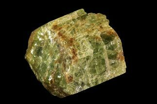 "1.4"" Yellow-Green Fluorapatite Crystal - Ontario, Canada For Sale, #93740"