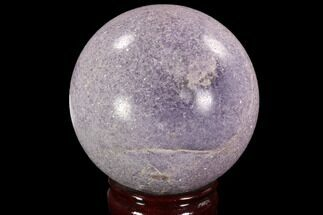 "3.65"" Sparkly, Purple Lepidolite Sphere - Madagascar For Sale, #94073"