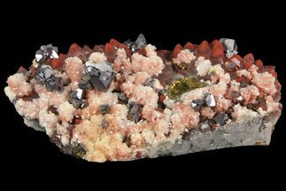 "Buy 4.1"" Quartz, Galena, Dolomite and Chalcopyrite Association - China - #94642"