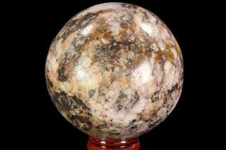 "2.55"" Polished Calcite & Pyrite Sphere - Congo For Sale, #95018"