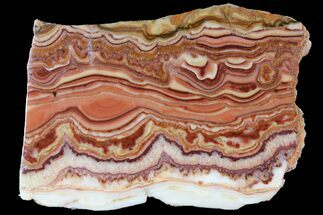 "2.4"" Polished Slab Of Rolling Hills Dolomite - Mexico For Sale, #95537"