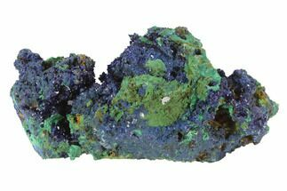 "Buy 3.1"" Azurite Crystals With Malachite - Laos - #95806"