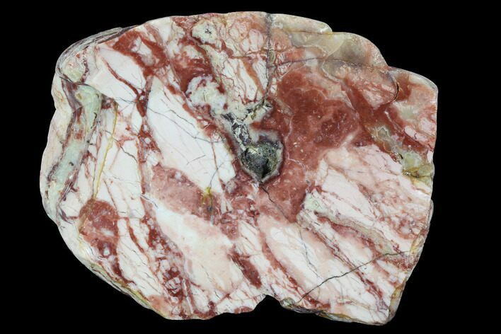 "3.6"" Polished, Brecciated Pink Opal Section - Western Australia"