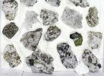 Wholesale Flat - Pyrite, Galena, Quartz, Etc From Peru - 31 Pieces - #97060-1